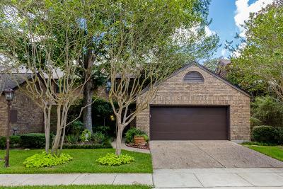 Bellaire Condo/Townhouse For Sale: 18 Town Oaks Place