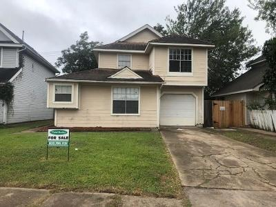 Houston Single Family Home For Sale: 7730 Sign Street