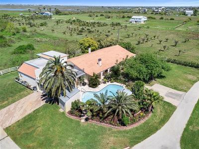 Galveston Single Family Home For Sale: 12240 Jenkins Road