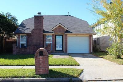 Baytown Single Family Home For Sale: 8211 Sanford Street