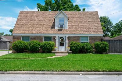 Houston Single Family Home For Sale: 603 Moody Street
