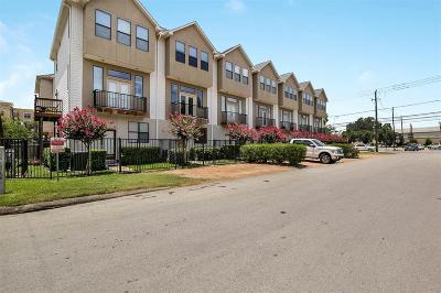 Houston Condo/Townhouse For Sale: 2300 Union Street #B