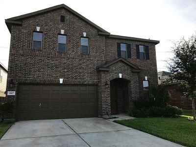 Katy Single Family Home For Sale: 3327 Trent Stone Lane