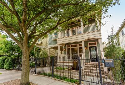 Houston Single Family Home For Sale: 1537 Alexander Street