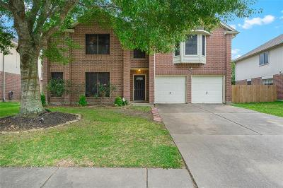 Kemah Single Family Home For Sale: 1826 Kemah Oaks Drive