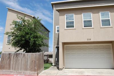 Galveston County, Harris County Condo/Townhouse For Sale: 304 Felt Circle