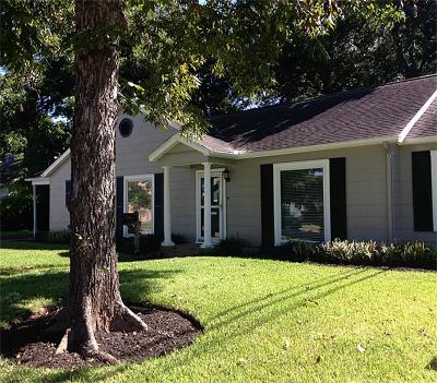Sugar Land Single Family Home For Sale: 207 Brooks Street