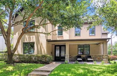 Houston Single Family Home For Sale: 3004 Wroxton Road