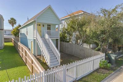 Galveston TX Single Family Home For Sale: $225,000