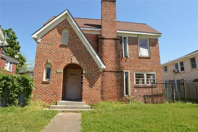 Houston Multi Family Home For Sale: 2715 Palm Street #1