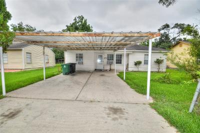 Houston Single Family Home For Sale: 13367 Halifax Street