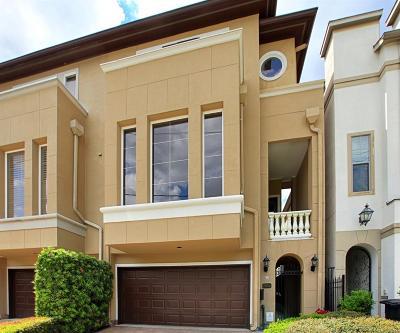 Houston Condo/Townhouse For Sale: 2934 Virginia Street