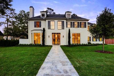 Houston Single Family Home For Sale: 4 Reynolds