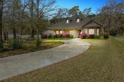 Willis Single Family Home For Sale: 12935 Pelican Boulevard