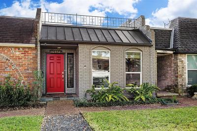 Bellaire Condo/Townhouse For Sale: 5205 Palmetto Street #J