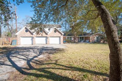 Crosby Single Family Home For Sale: 19322 Dallas Road