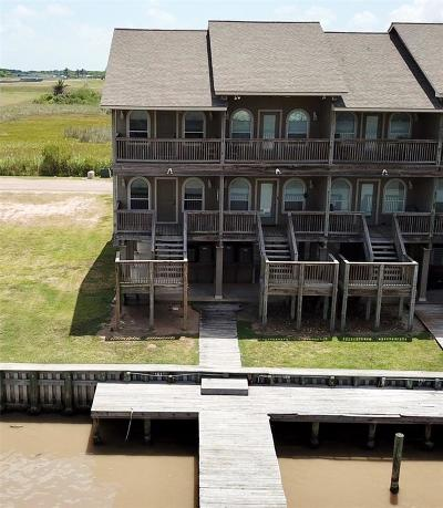 Matagorda Condo/Townhouse For Sale: 161 Boat Slip #RD
