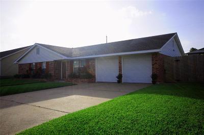 Galveston Single Family Home For Sale: 7918 Pruitt Drive
