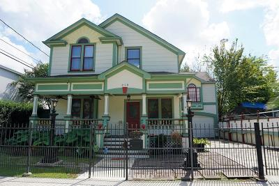 Houston Single Family Home For Sale: 210 E 4th Street