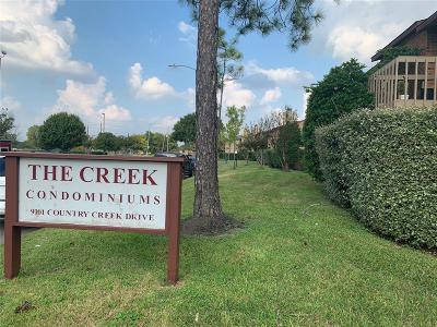 Houston Condo/Townhouse For Sale: 9101 Country Creek Drive #307