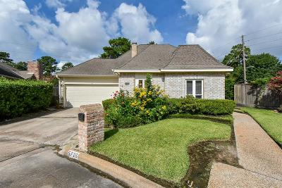 Houston TX Single Family Home For Sale: $260,000