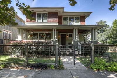 Houston Heights, Houston Heights Annex, Houston Heights, Timbergrove Single Family Home For Sale: 823 Rutland Street