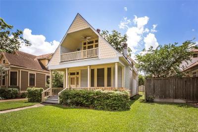 Houston Single Family Home For Sale: 517 Harvard Street