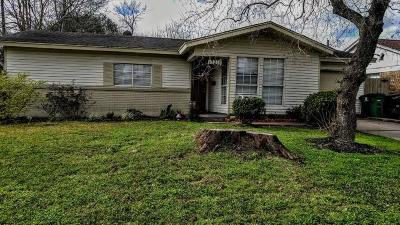 Houston Single Family Home For Sale: 13214 Faraday Drive