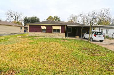 Houston Single Family Home For Sale: 2322 Mooney Road