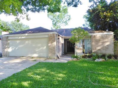 Houston Single Family Home For Sale: 1379 Beaujolais Lane