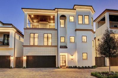 Houston Single Family Home For Sale: 1824 Nantucket