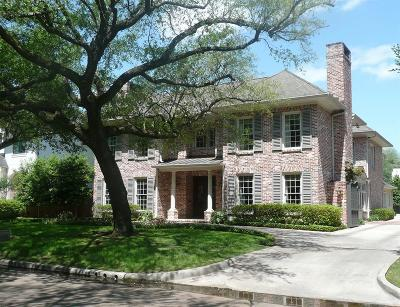 Tanglewood Single Family Home For Sale: 6018 Stones Throw