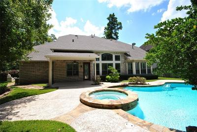 The Woodlands Single Family Home For Sale: 71 E Beckonvale Circle