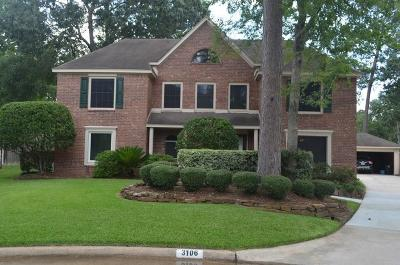 Houston Single Family Home For Sale: 3106 Silver Glade Drive