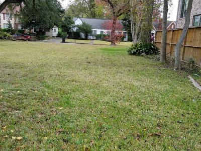 Houston Residential Lots & Land For Sale: 3214 Charleston Street