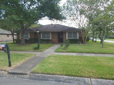 Friendswood Single Family Home For Sale: 5019 Encino Drive