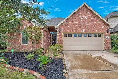 Katy TX Single Family Home For Sale: $275,000