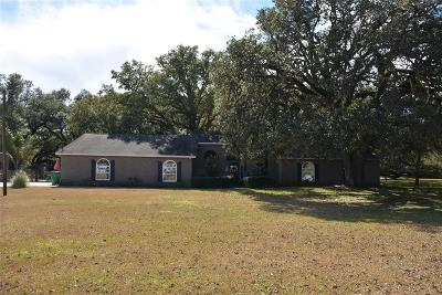 Manvel Single Family Home For Sale: 9415 Twin Oaks Drive