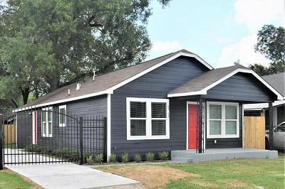 Houston Single Family Home For Sale: 6939 Avenue N