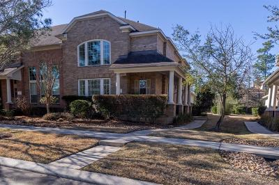 The Woodlands Condo/Townhouse For Sale: 23 W Pipers Green Street