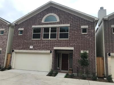 Houston Condo/Townhouse For Sale: 11509 Main Pine