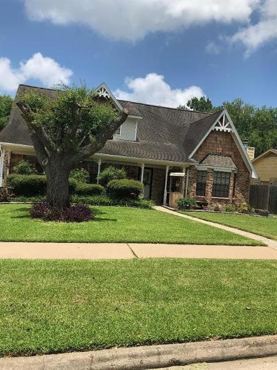 Houston Single Family Home For Sale: 15427 Tadworth Drive