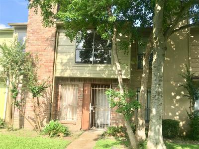 Houston Condo/Townhouse For Sale: 11685 Alief Clodine Road #27