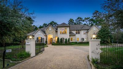 The Woodlands Single Family Home For Sale: 15 Bridle Oak Court