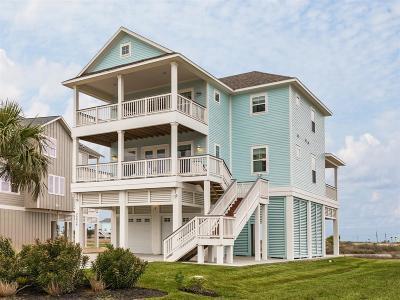 Galveston Single Family Home For Sale: 25626 Spotted Sandpiper Drive