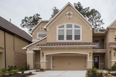 Conroe Condo/Townhouse For Sale: 132 Skybranch Drive