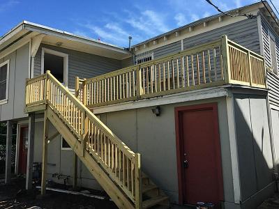 Galveston Rental For Rent: 1311 Church Street #Rear