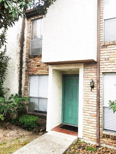 Houston Condo/Townhouse For Sale: 17230 Imperial Valley Drive #64