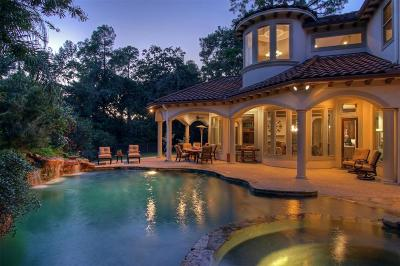 The Woodlands Single Family Home For Sale: 11 Bay Cliff Court