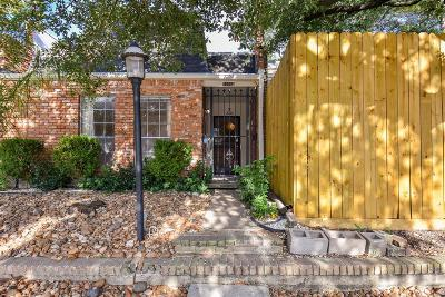 Bellaire Condo/Townhouse For Sale: 7500 West Loop S #B